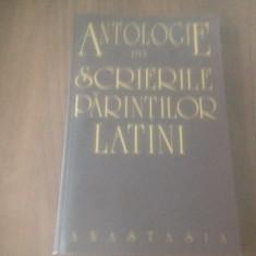 ANTOLOGIE DIN PARINTI LATINI- SF AMBROZIE, IERONIM, AUGUSTIN, CIPRIAN, PAULIN...