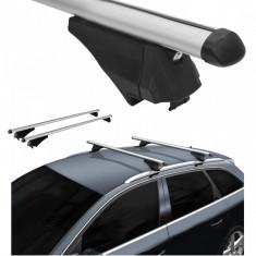 Bare portbagaj pentru Audi A4 B8/B9 Combi/Allroad 2008-2016 avant combi din aluminiu cu sistem antifurt si cheie - Ornamente exterioare auto