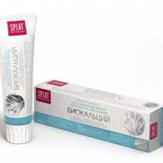 SPLAT Biocalcium pasta de dinti pentru smalt fortifiat si albire, fara fluor