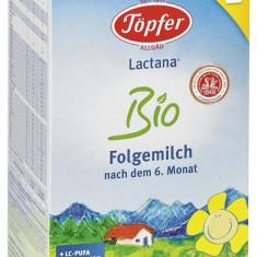 Lapte praf Topfer Lactana Bio 2, bebelusi de la 6 luni, 600g - Lapte praf bebelusi