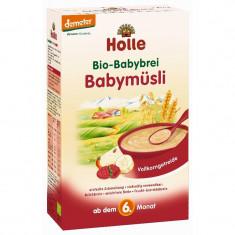Cereale Holle Bio cu bucatele mici de fructe, bebelusi de la 6 luni - Cereale copii