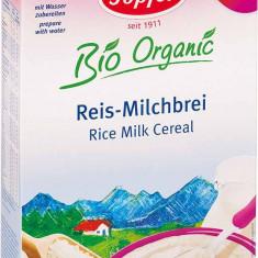 Topfer cereale bio orez cu lapte, pentru bebe de la 4 luni - Cereale copii