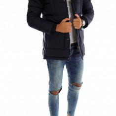 Geaca iarna bleumarin - geaca barbati 7251 L3, Marime: S, M, L, XL, XXL, Culoare: Din imagine