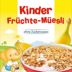 Cereale bebelusi Hipp Bio Musli cu Fructe, fara lapte, de la 10 luni - Cereale copii