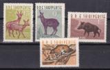 Albania 1962  fauna  MI 699-702   MNH  w46