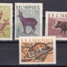 Albania 1962 fauna MI 699-702 MNH w46 - Timbre straine, Nestampilat