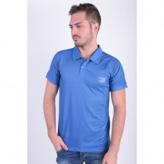 Tricou Polo Jack&Jones Jjtcsporty Simple Tricou Polo Ss Snorkel Blue - Tricou barbati, Marime: L, Culoare: Albastru