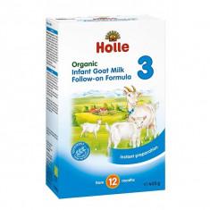 Lapte praf de capra pentru bebelusi Holle Organic 3, de la 1 an - Lapte praf bebelusi