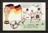 Laos.1991 Germania campioana mondiala la fotbal-Bl.  SL.482