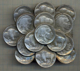 ZET 1429 PAFTA METALICA(CATARAMA) - SIMBOL MONEDE FIVE CENTS BUFFALO SI INDIENS