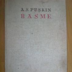 W1 Basme - A.s. Puskin - Carte Basme