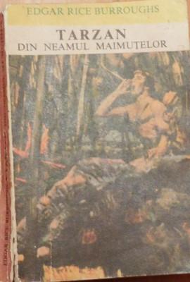 Tarzan din neamul maimutelor de Edgar Rice Burroughs foto