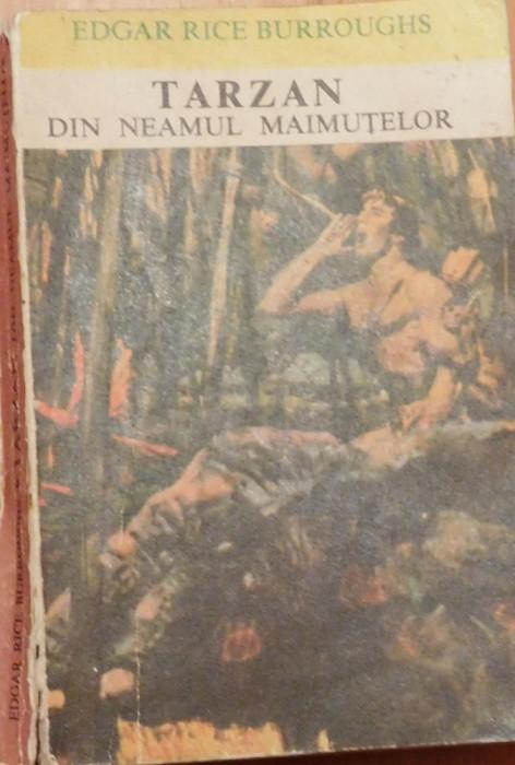Tarzan din neamul maimutelor de Edgar Rice Burroughs foto mare