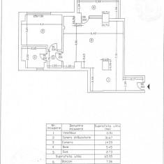 Apartament 2 camere, Titan Bucuresti, 73.31 mp,, Etajul 5