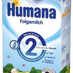 Lapte praf Humana 2, de la 6 luni, 600g - Lapte praf bebelusi