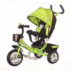 Tricicleta Skutt Agilis Green - Tricicleta copii Skutt, Verde