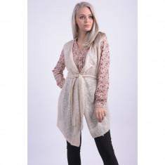 Vesta Vila Viophelia Knit Pink Tint - Vesta dama Vila, Marime: L, Culoare: Roz