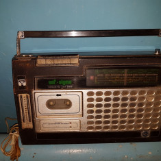 Radio Casetofon vechi vef-sigma vef 260, 0-40 W