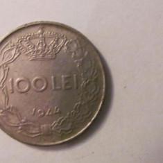 CY - 100 lei 1944 Romania cu pavilion in ureche - Moneda Romania