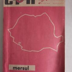MERSUL TRENURILOR DE CALATORI 31.05, 1970-22.05.1971 - Carti Transporturi