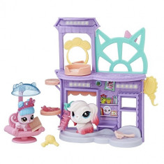 Littlest Pet Shop - Salonul Shake'n'Dry - Figurina Povesti Hasbro