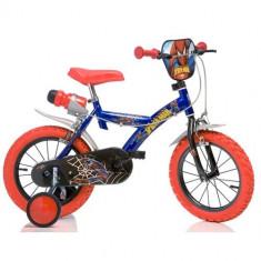Bicicleta 143G Seria Spiderman, 14 inch - Bicicleta copii Dino Bikes