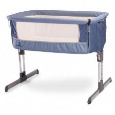Patut Caretero Sleep2gether Navy - Patut pliant bebelusi Caretero, Albastru