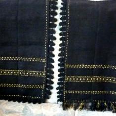 Fota, catrinta nr.2 - Costum populare, Marime: 48, Culoare: Negru