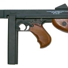 Replica CyberGun Thompson M1A1 AEG arma airsoft pusca pistol aer comprimat sniper shotgun