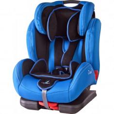 Scaun auto cu Isofix Caretero Diablo Blue - Grupa 9-36 Kg - Scaun auto copii Caretero, 1-2-3 (9-36 kg)
