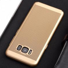 Husa Samsung Galaxy S7 Edge Perforata Gold