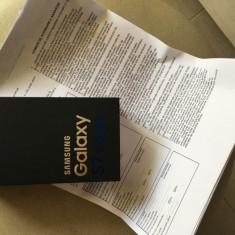 S7 Edge, nou, sigilat, cu toate accesoriile, garantie 2 ani - Telefon Samsung, Negru, 32GB, Neblocat, Single SIM