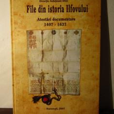 FILE DIN ISTORIA ILFOVULUI, ATESTARI DOCUMENTARE 1407-1637, 2007 - Carte Monografie
