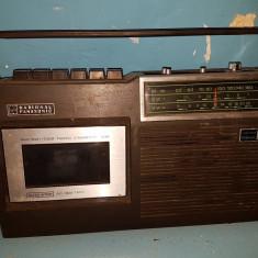Radio Casetofon vechi NATIONAL PANASONIC - RQ 432-DS, 0-40 W
