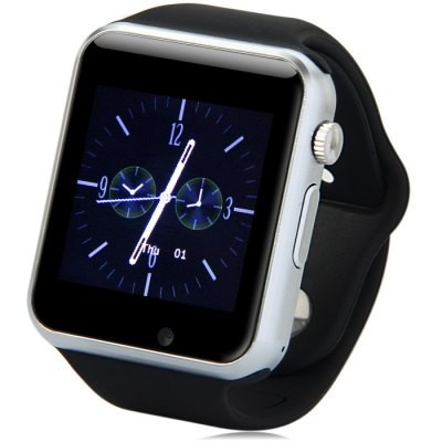 Ceas SmartWatch A1 - Watch - 2017 Edition, Telefon microSIM, microSD camera foto