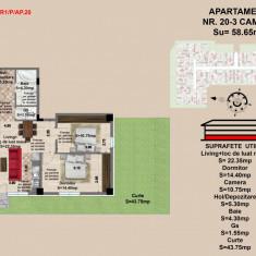 Apartament 2 camere Brasov , zona Tractorul, Parter
