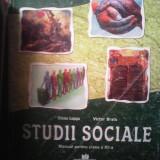 manual scolar de Studii Sociale cls a 12 a editura corvin