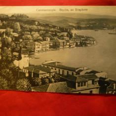 Ilustrata Constantinopole - Beycos in Bosfor inc. sec.XX, Necirculata, Printata