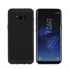Husa Samsung Galaxy A5 2017 Perforata Neagra, Negru, Plastic