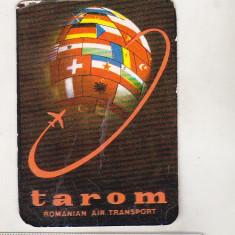 Bnk cld Calendar de buzunar 1979 - TAROM