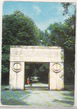 Bnk cp Targu Jiu - Poarta Sarutului - circulata - marca fixa, Printata