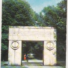 Bnk cp Targu Jiu - Poarta Sarutului - circulata - marca fixa - Carte Postala Oltenia dupa 1918, Printata