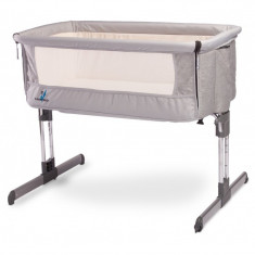 Patut Caretero Sleep2gether Grey - Patut pliant bebelusi Caretero, Gri