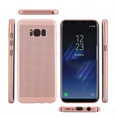 Husa Samsung Galaxy A5 2017 Perforata Rose Gold - Husa Telefon Samsung, Roz, Plastic, Fara snur, Carcasa