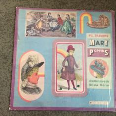 Mary Poppins P.L. Travers dramatizare de Silvia Kerim disc vinyl lp muzica copii - Muzica pentru copii electrecord, VINIL