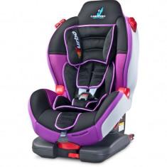 Scaun auto cu Isofix Caretero Sport Turbofix Purple - Grupa 9-25 Kg - Scaun auto copii