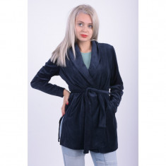 Jacheta Vero Moda Vmvally Velvet Robe Navy Blazer - Jacheta dama Vero Moda, Marime: M, Culoare: Bleumarin