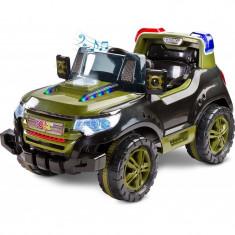 Masinuta electrica Toyz Patrol 2x6V cu telecomanda Verde - Masinuta electrica copii