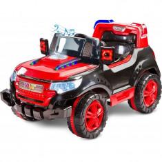 Masinuta electrica Toyz Patrol 2x6V cu telecomanda Rosu - Masinuta electrica copii