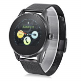 Ceas Smartwatch TC K88H Android si IOS, Full Metalic, Black Edition